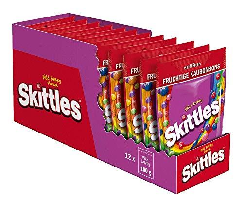 [prime] Skittles Wild Berry Beutel (12 x 160 g)