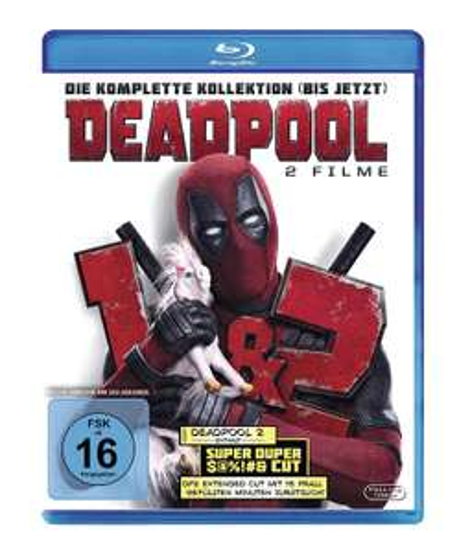 Deadpool + Deadpool 2 (Doppelset Blu-ray) für 16€ (Media Markt)