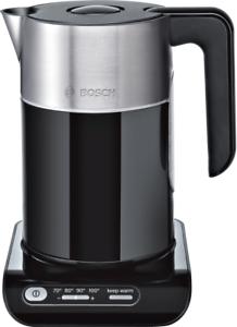 Bosch TWK8613P Wasserkocher, Styline, 2000-2400 W, Schwarz