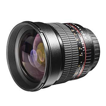 (Amazon.de) Walimex Pro 85mm 1.4 DSLR-Objektiv Canon EF für € 217,42