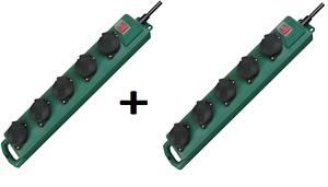 2x Brennenstuhl Super-Solid SL 544 Garten-/Outdoor-Steckdosenverteiler 5-fach, IP44, für 14,99 Euro [Ebay]