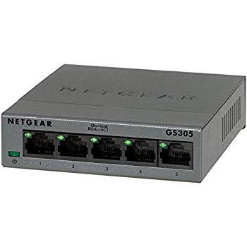 Netgear GS305 5-Port Gigabit Switch (mit Rabattgutschein (bei Prime))