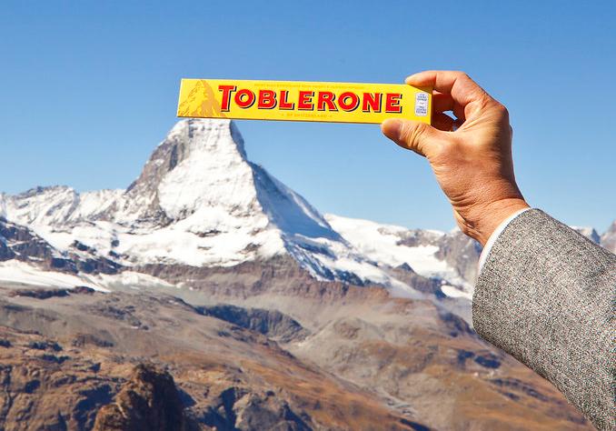 Toblerone, 100 g, weiße oder Vollmilchschokolade für 79 ct @ Action