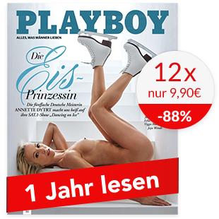Jahresabo des Playboy (12 Monate) für 9,90€ (Kündigung erforderlich)