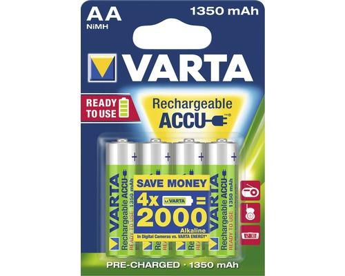 [Hornbach Schwetzingen: Raus damit] Varta Akku Batterie Ready to use AA 4 Stück