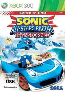 !XBox 360/PS3! Sonic All-Stars Racing Transformed - Limited Edition