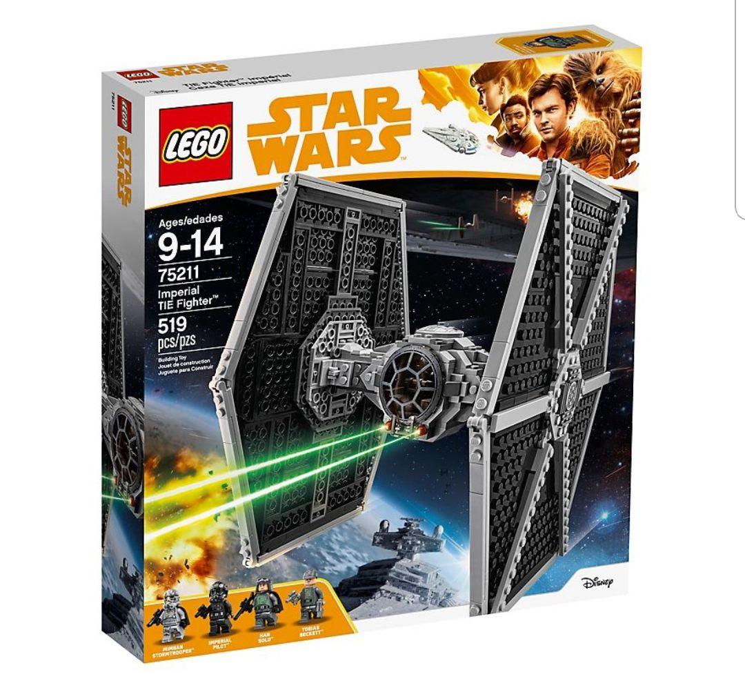 Lego Star Wars 75211 Imperial TIE Fighter + 75229 nur 7,50 Euro BESTPREIS