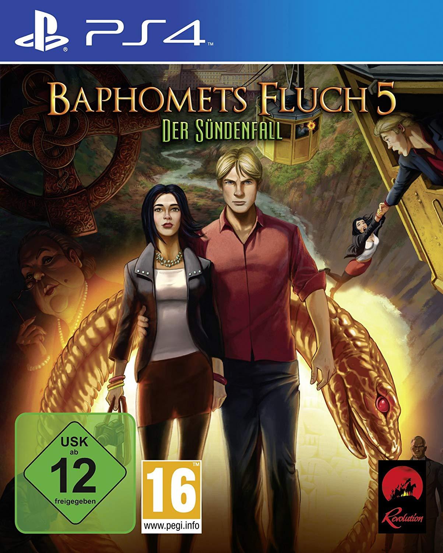 Baphomets Fluch 5: Der Sündenfall (PS4) für 10€ bzw. 8,50€ (Müller)