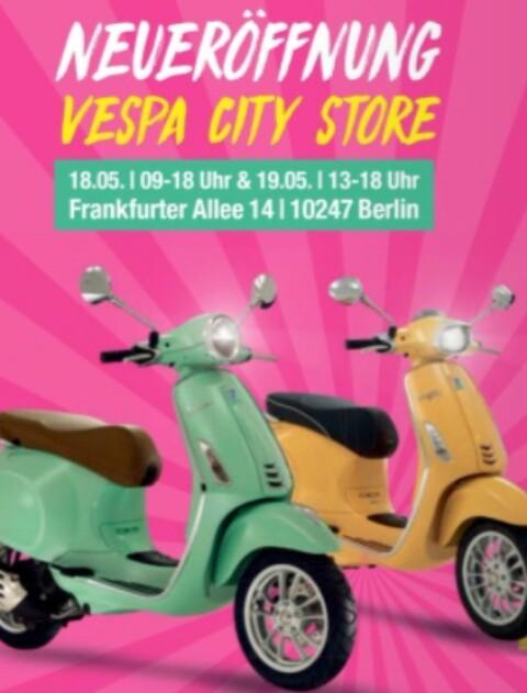[Berlin] Freibier & gratis Pizza [Neueröffnung Vespa König] | ab 18.05