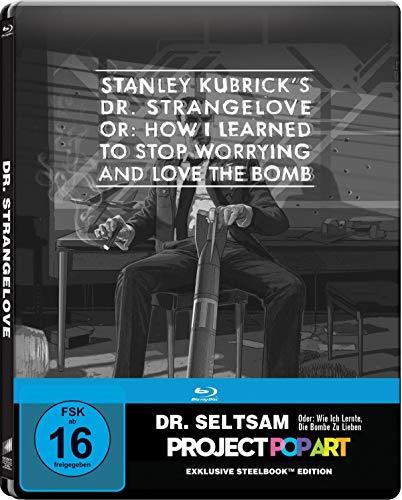 Dr. Seltsam - oder: wie ich lernte, die Bombe zu lieben Limited Edition Gallery Steelbook (Blu-ray) für 6,99€ (Media Markt)