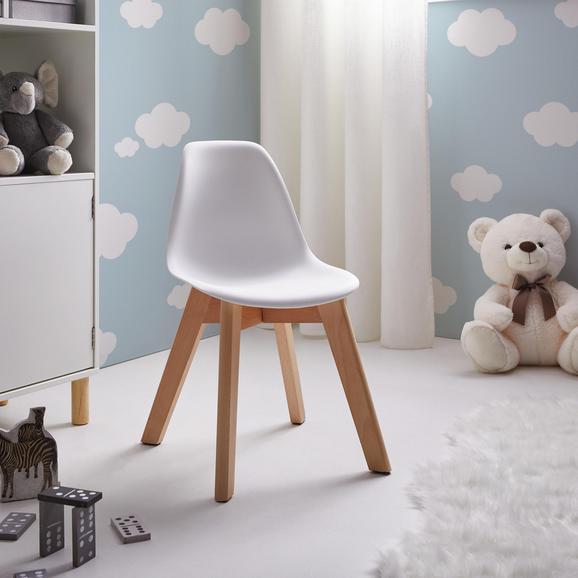 Kinderstuhl Julie aus Buchenholz und Kunststoff