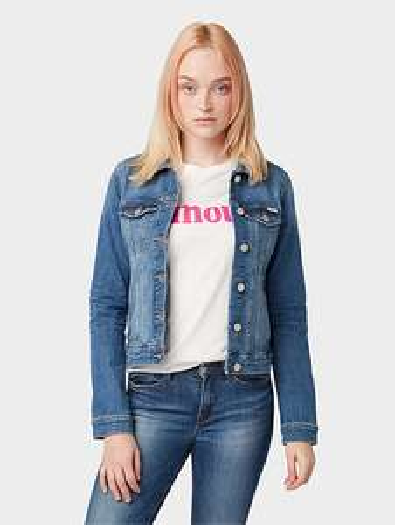 Tom Tailor Damen Jeansjacke mit 30% (extra) auf Jeansfavoriten
