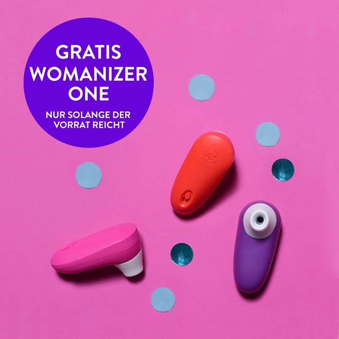 [Amorelie] Heute bei jeder Bestellung Womanizer One gratis dazu