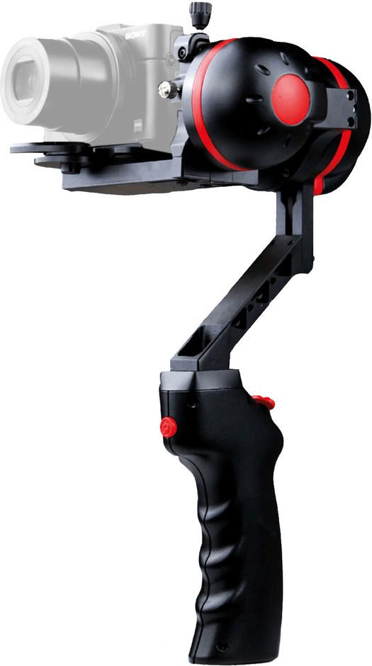 2-Achsen-Gimbal JOBO GYROpod MD-1 für Kompaktkameras (Traglast bis 750g, ~2h Akku, Neigungswinkel einstellbar, 360° drehbar, Joystick)