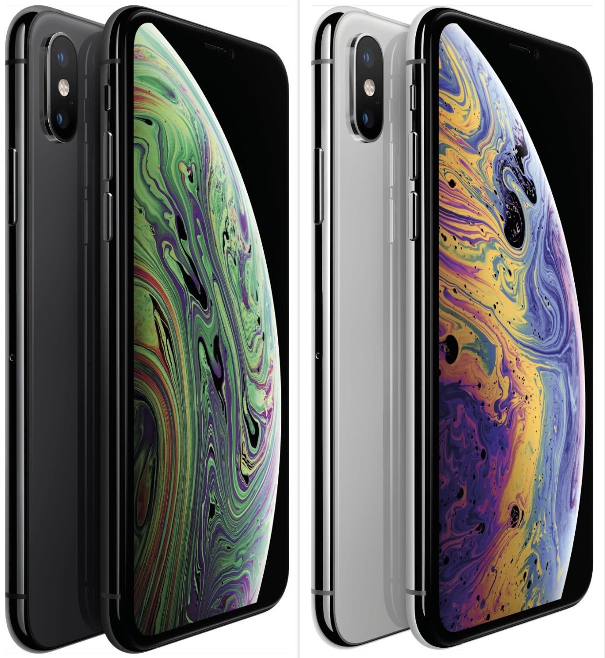 Apple iPhone XS 64GB (Ohne Simlock) spacegrau o. silber NEU OVP MT9E2ZD/A EU für 852,48€ inkl. Versandkosten
