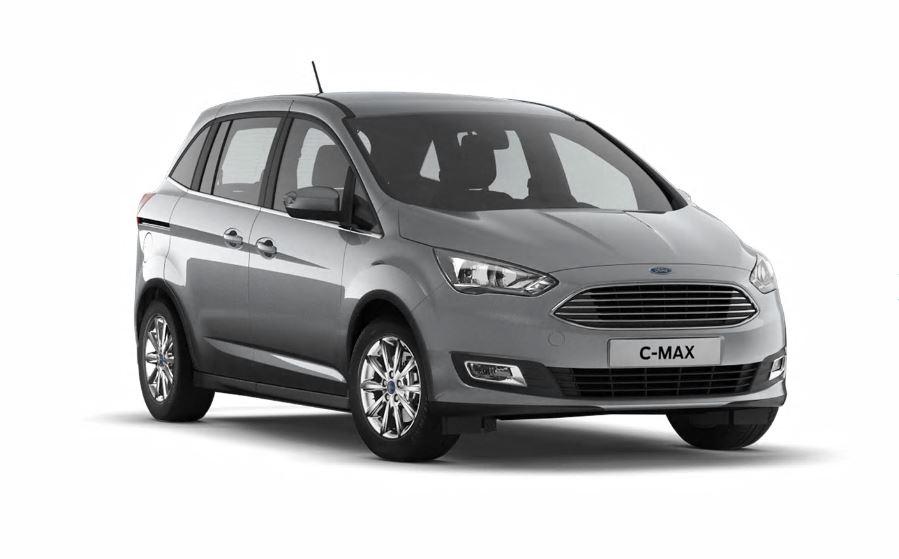 [Privat- u. Gewerbeleasing] Ford Grand C-Max Titanium (125 PS) - mtl. 179€ (brutto), 36 Monate, 10.000km, LF 0,57 - inkl. Wartung&Verschleiß