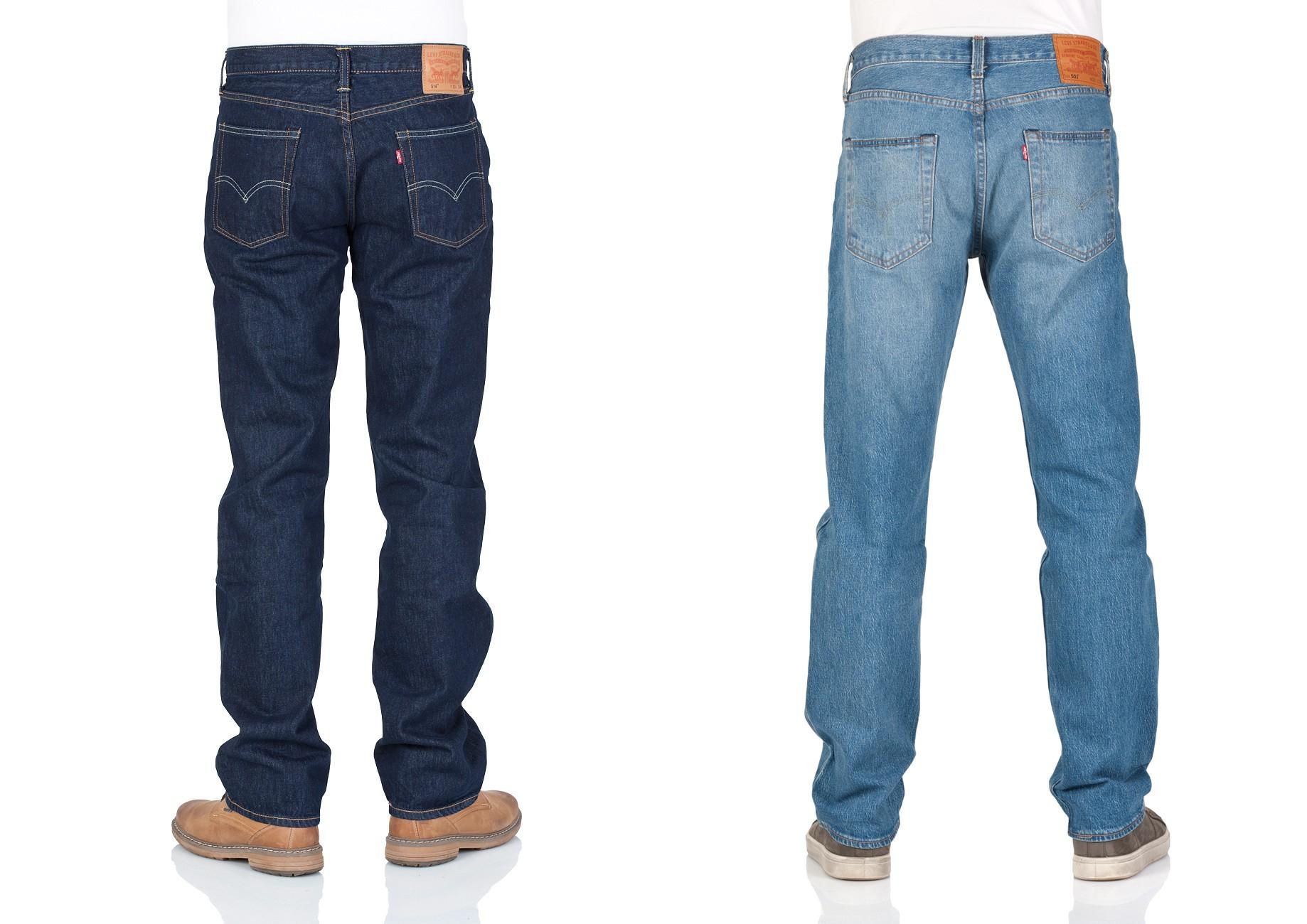 Viele Levi's Herren Jeans zwischen 44,95€ und 53,95€ (501 – 511 – 514 - 527) @Jeans Direct