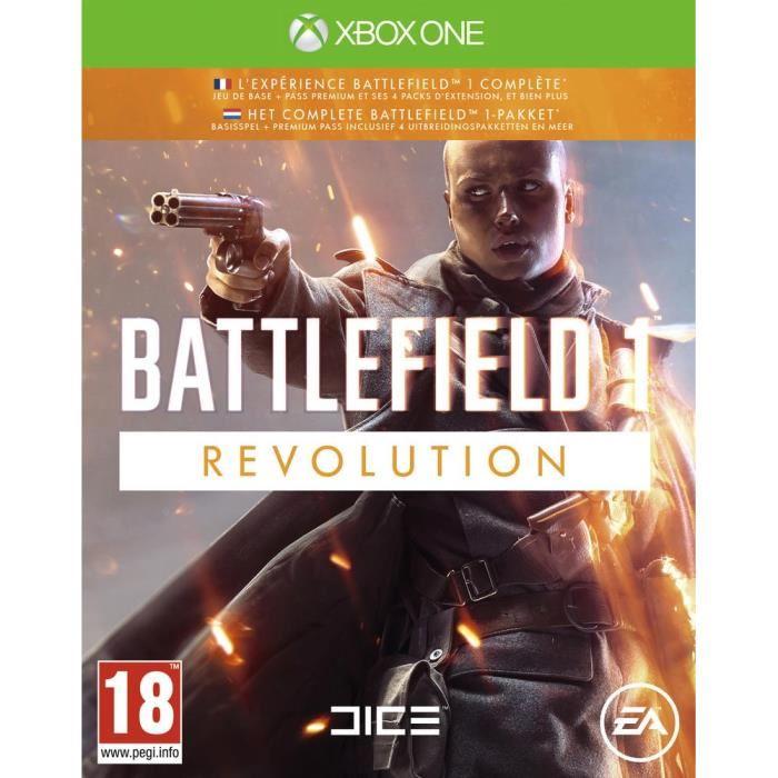 Battlefield 1 Revolution (Xbox One) für 12,99€ inkl. Versand (Cdiscount)