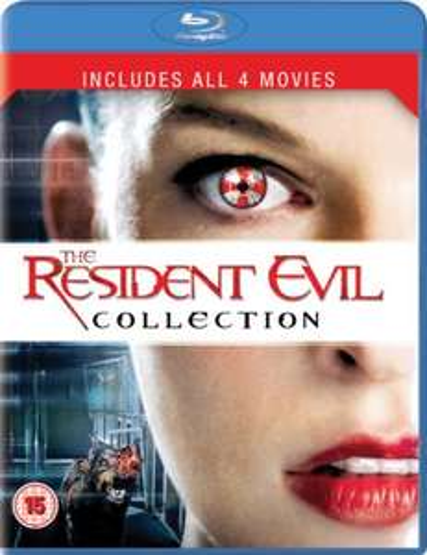 Resident Evil 1 bis 4 - Collectors Box - Blu Ray - nur Englisch !?