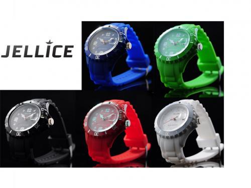 JELLICE-Uhren mit Silikonarmband in 5 Farben für 11,95€ frei Haus@dc