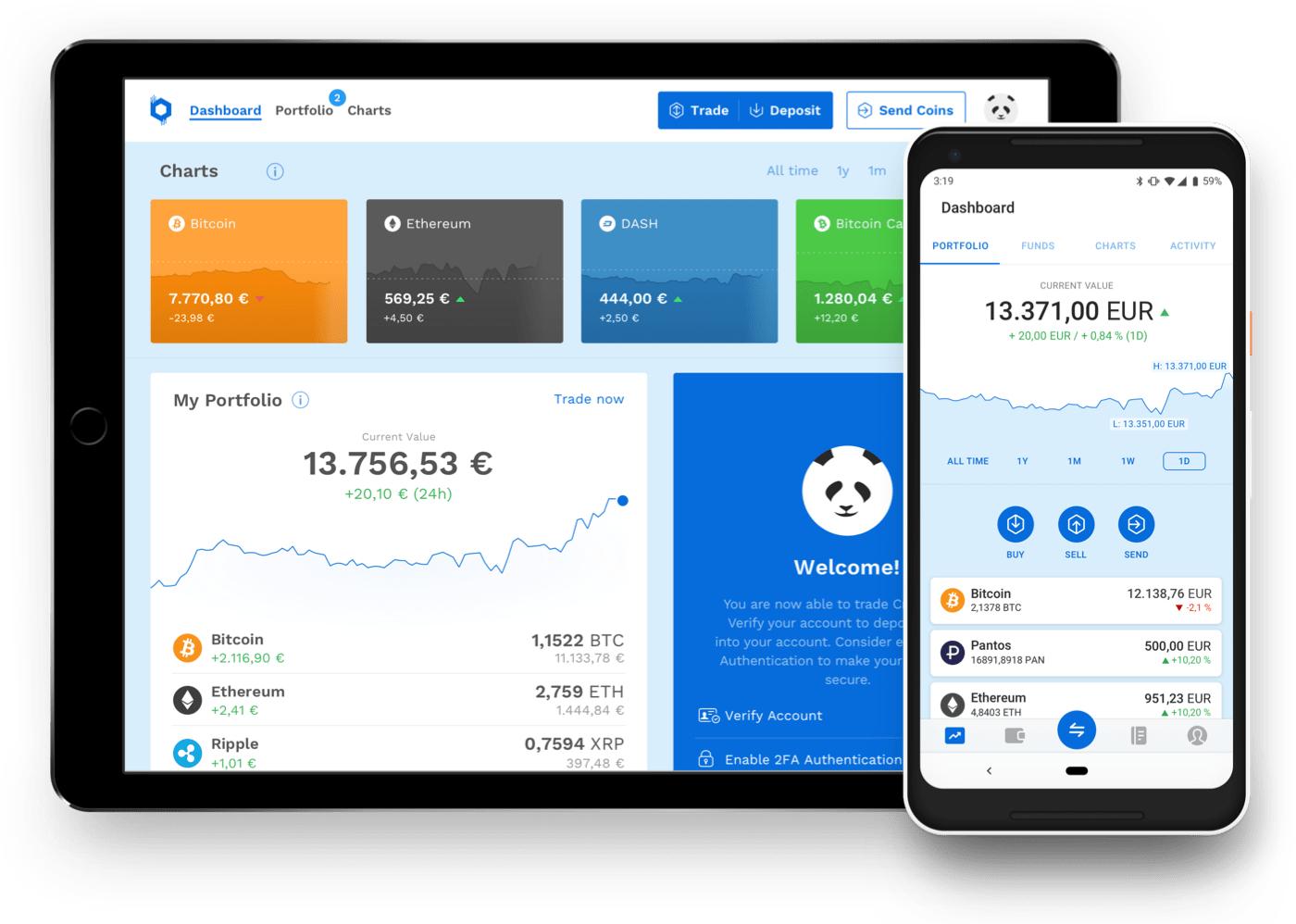 Bitpanda 5€ bis 200€ (digitales) Gold geschenkt beim Kauf von min. 25€