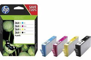 HP Nr. 364XL Multipack 4-farbig - MHD überschritten