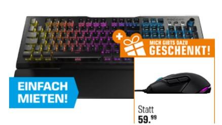 Roccat Vulcan 120 Aimo Gaming Tastatur + Roccat Kova Aimo Gaming Maus für zusammen 149€ [Saturn]