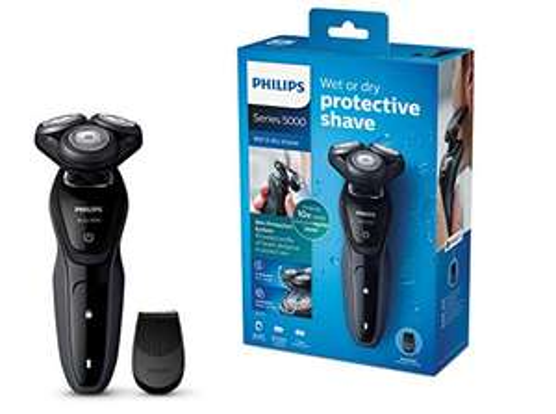 """Philips Nass-und Trockenrasierer """"S5270/06"""" (mit MultiPrecision-Klingen, Präzisionstrimmer) [Amazon]"""