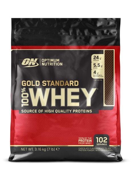 100% Whey Gold Standard 3,16kg für 49,99€
