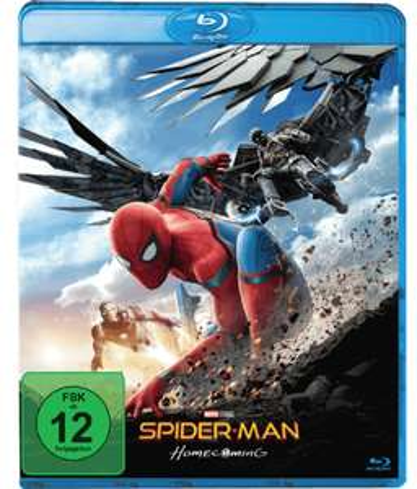 Spider-Man Homecoming (Blu-ray) für 5€ & weitere Blu-rays für je 5€ (Media Markt)