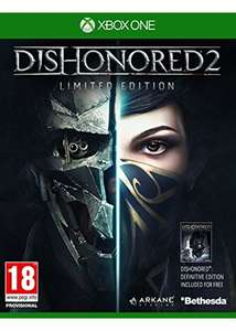 Dishonored 2: Das Vermächtnis der Maske Limited Edition inkl. Dishonored Definitive Edition (Xbox One) für 12,53€ (Base.com)