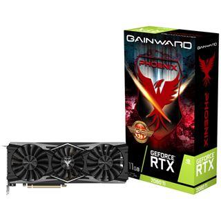 11GB Gainward GeForce RTX 2080 Ti Phoenix GS Aktiv PCIe 3.0 x16 - Mindstar