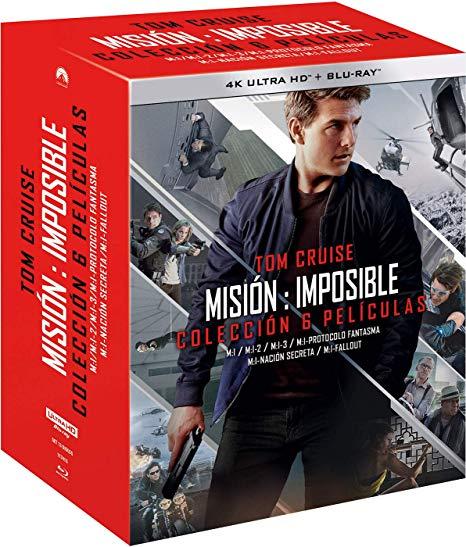 [Amazon.es] Mission Impossible - Teil 1 - 6 - 4k / UHD Bluray Box