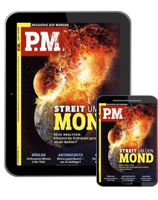 PM Magazin Abo (12 Ausgaben digital) für 30,04 € mit 25 € BestChoice Universalgutschein inkl. Amazon