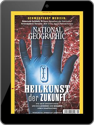 National Geographic Abo (12 Ausgaben digital) für 54,96 € mit 50 € Rossmann/ 45 € BestChoice/ 40 € Amazon-Gutschein