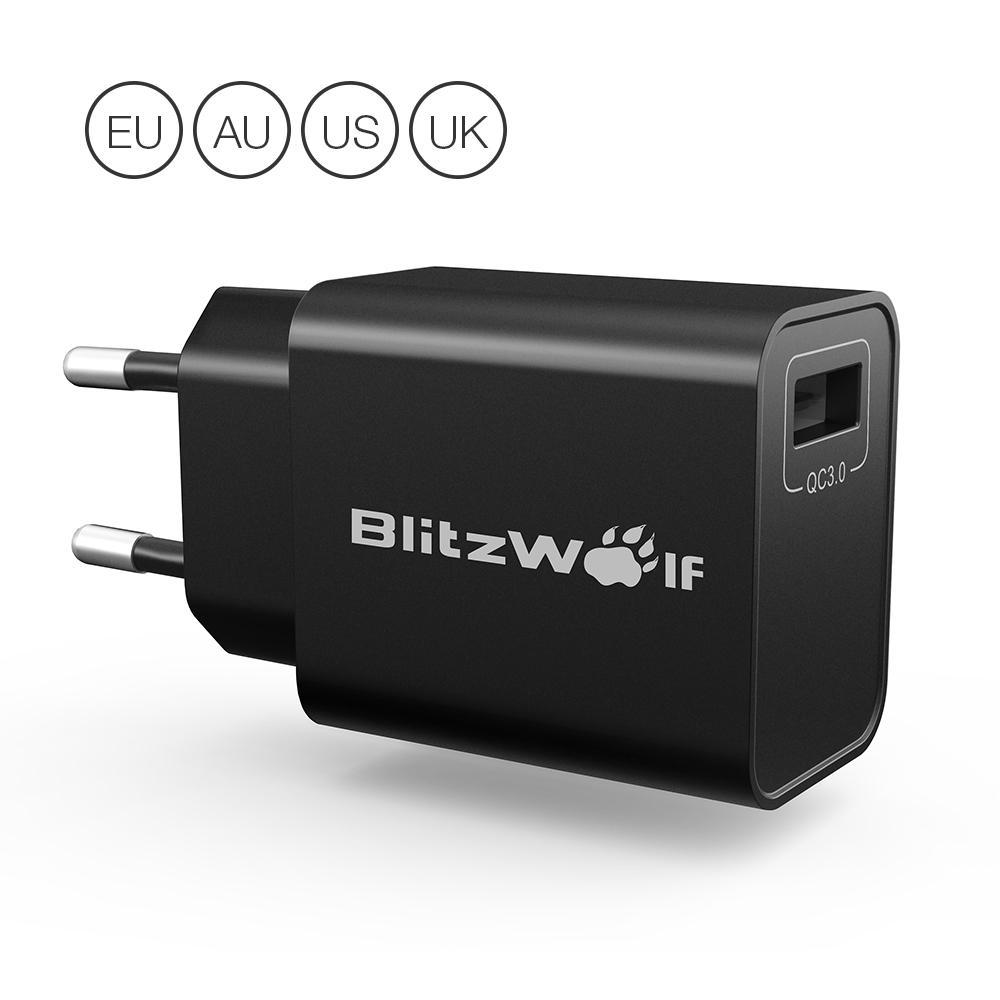 BlitzWolf® BW-S9 18W USB-Ladegerät für 5,35€ inkl. Versand (Banggood)