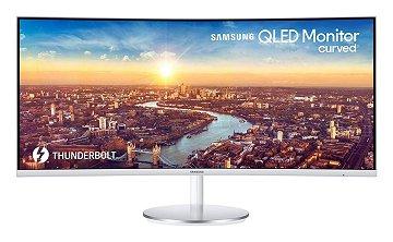 "Samsung 34"" Curved WQHD Monitor"