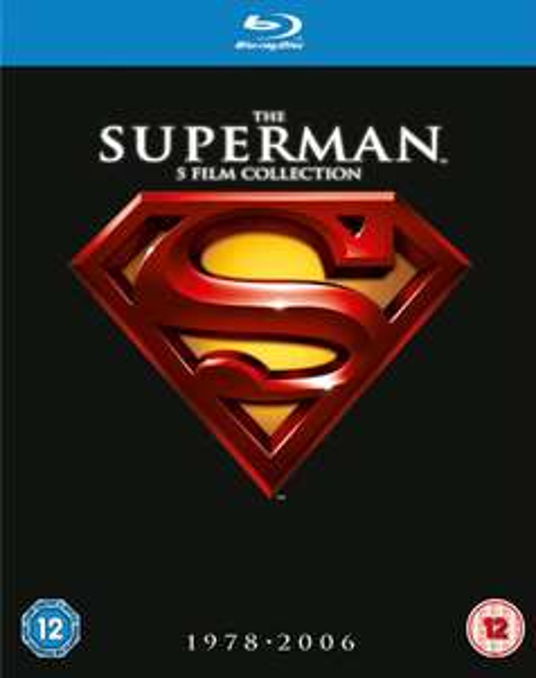 Superman - Die Spielfilm Collection 1978-2006 (Blu-ray) für 9,96€ inkl. Versand (Zavvi)