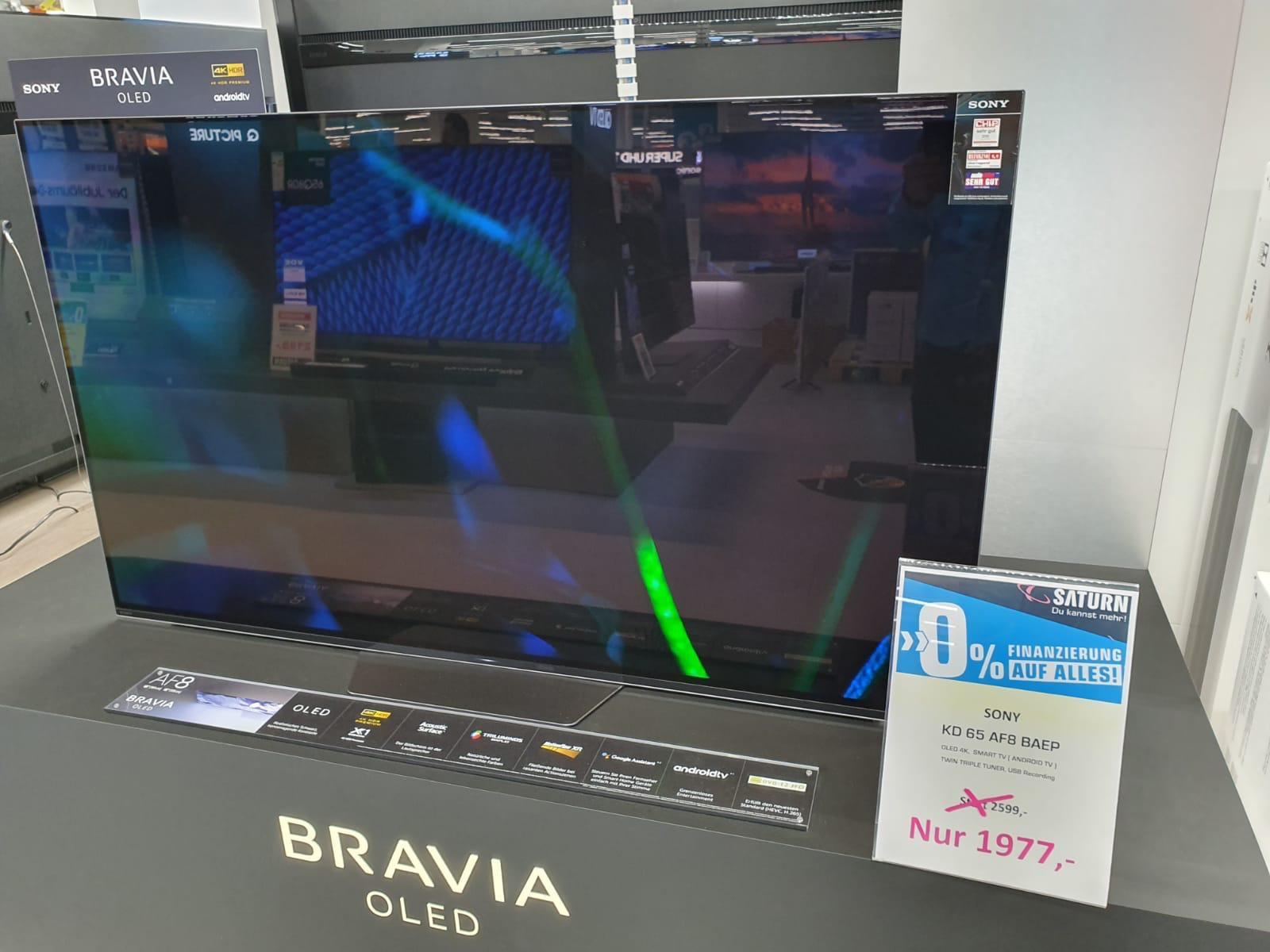 Sony OLED 65 AF 8