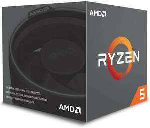 AMD Ryzen 5 2600 Prozessor - 6 Kern, 3.4GHz mit Wraith Stealth Kühler + Tom Clancy's The Division 2 - Gold Edition + World War Z (Mindstar)