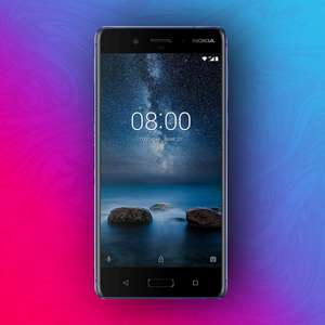 Nokia 8 128/6GB Global - Snapdragon 835 - 2560x1440 - NFC - Band 20 - 13MP+13MP - 360° Surround