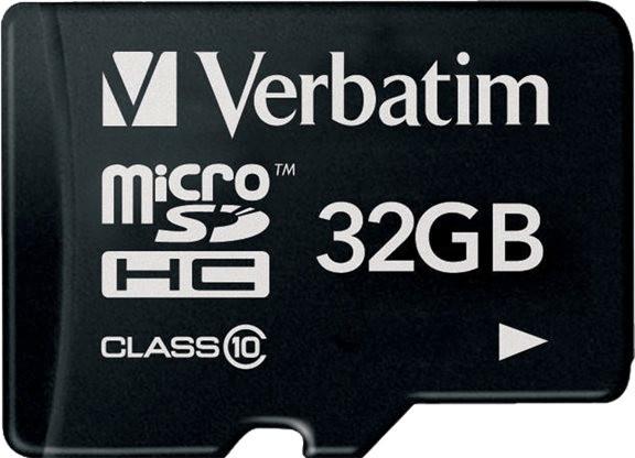 Verbatim Premium microSDHC 32GB (90 MB/s Lesen, 10 MB/s Schreiben, mit SD-Adapter) für 4,90€ Versandkosten