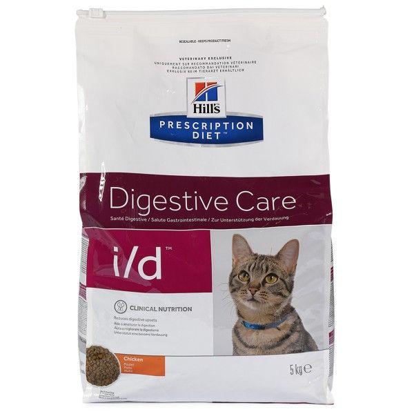 5KG Hill's Prescription Diet i/d Digestive Care Spezial Katzenfutter [ZooRoyal]