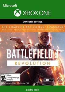 Battlefield 1 Revolution inkl. Battlefield 1943 (Xbox One Download Code) für 1,59€ (Instant Gaming & CDkeys)