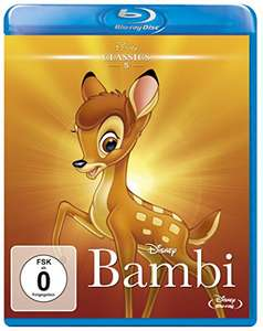 Bambi - Disney Classics (Blu-ray) für 6,93€ (Amazon Prime)