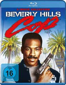 Beverly Hills Cop 1-3 (3 Movie Collection Blu-ray) für 10,95€ (Thalia)