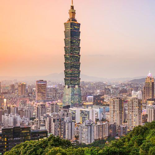 Flüge nach Taipeh (Taiwan) mit KLM inkl. Gepäck von Frankfurt (Mai - Juni) Hin und Rückflug ab 363€