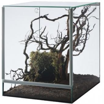 Nano Terrarium mit Falltüre 20x20x30 cm