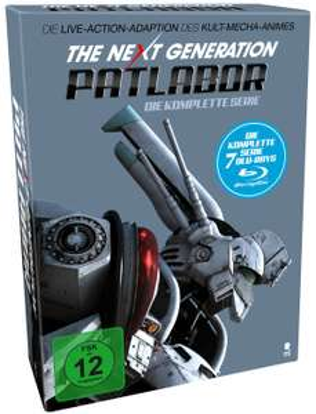 The Next Generation: Patlabor - Die komplette Serie (Blu-ray) für 7,99€ (Saturn + Media Markt)