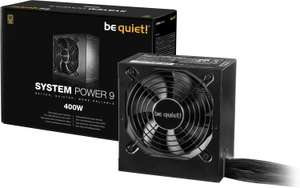 Black Weekend Tagesdeals: z.B. be quiet! System Power 9 400W-Netzteil (80 PLUS Bronze)